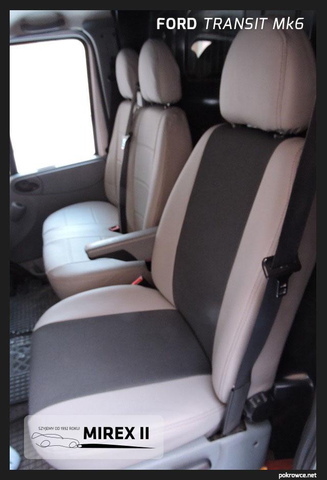 pokrowce ford transit mk6