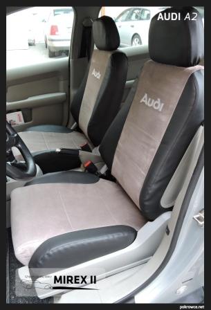 pokrowce skórzane Audi A2