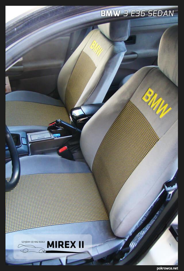pokrowce bmw 3 e36 sedan