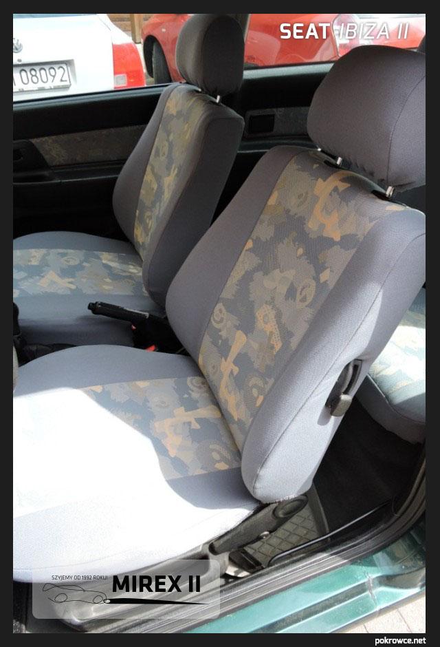 pokrowce do seat ibiza 2