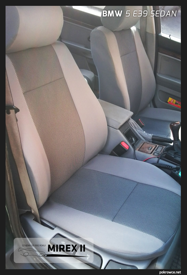 pokrowce bmw 5 e39 sedan