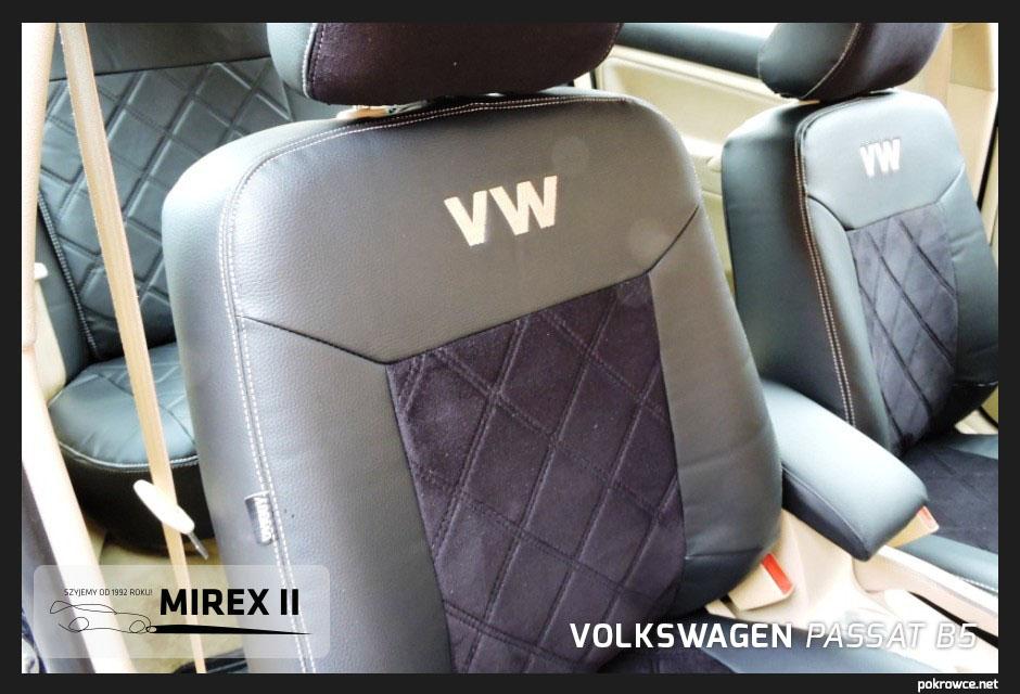 pokrowce skórzane do volkswagen passat b5