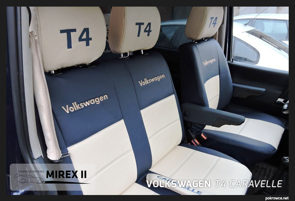 pokrowce volkswagen t4 caravelle