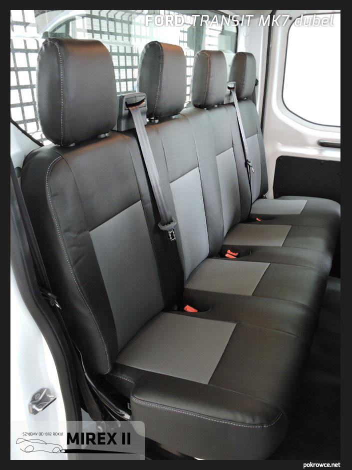 pokrowce ford transit mk7 dubel