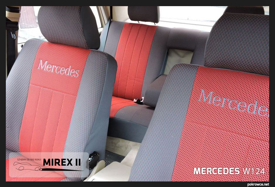 pokrowce do mercedes w124