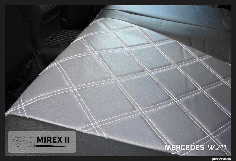 pokrowce skórzane do mercedes w211