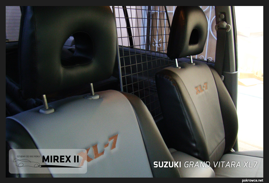 pokrowce do suzuki grand vitara rl7