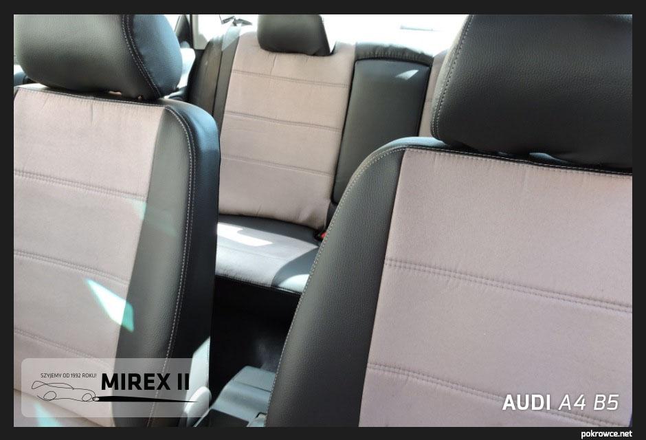 Audi A4 B5 alkantara+ekoskóra
