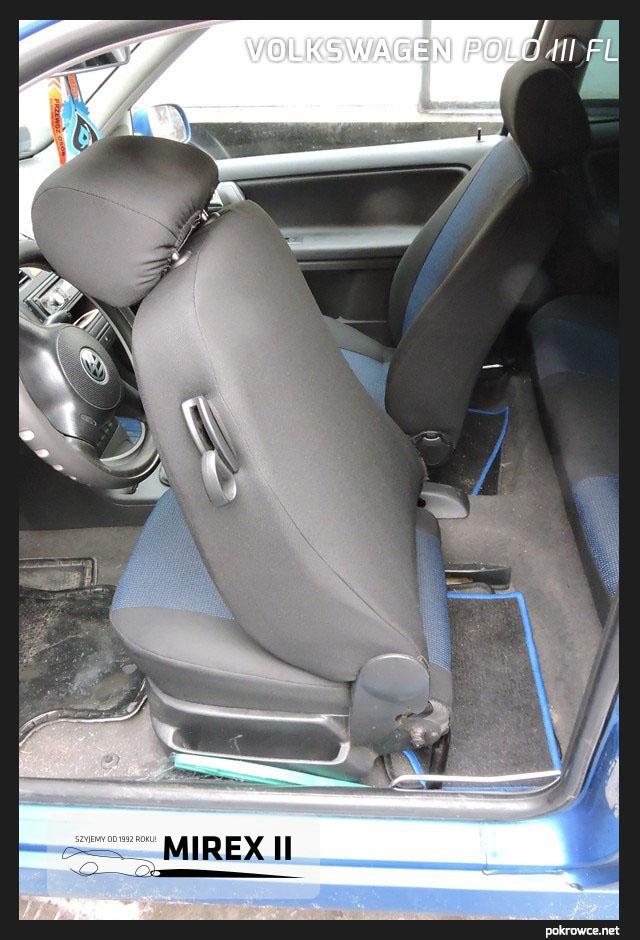 pokrowce do samochodu Polo 3FL