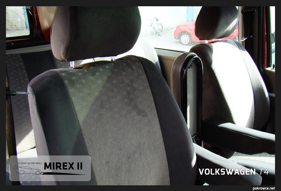 pokrowce ekskluzywne volkswagen t4
