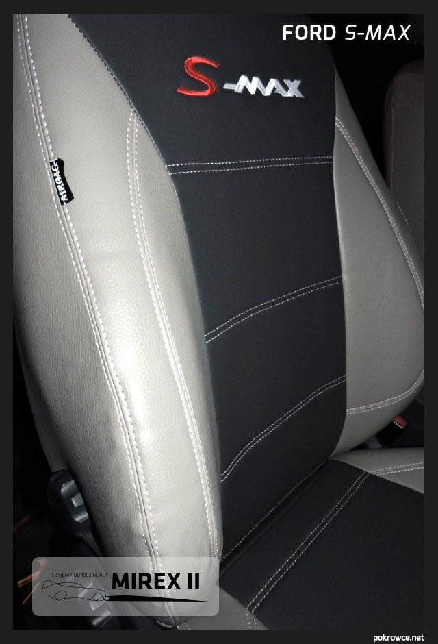 pokrowce skórzane jasne ford s-max