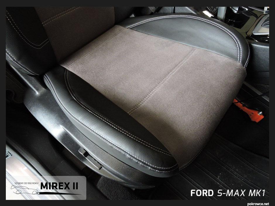 pokrowce skórzane ford s-max mk1