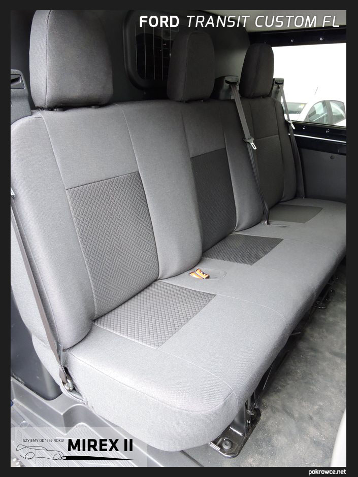 pokrowce ford transit custom fl