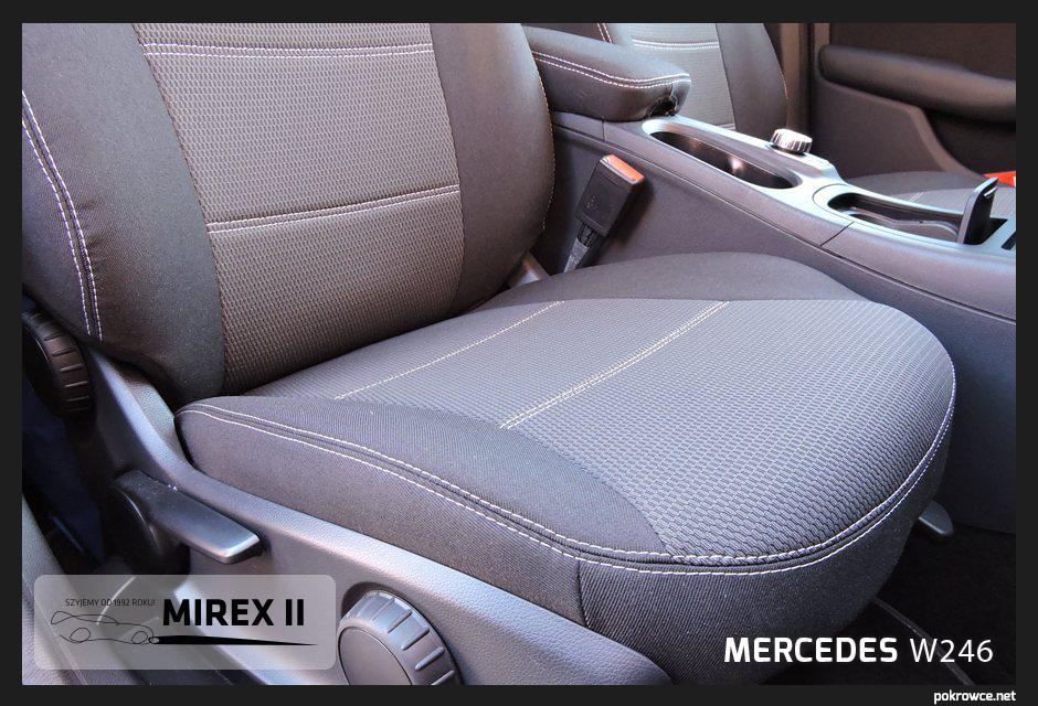 pokrowce do mercedes w246