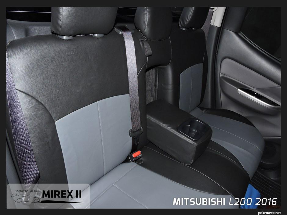 pokrowce do mitsubishi L200 2016