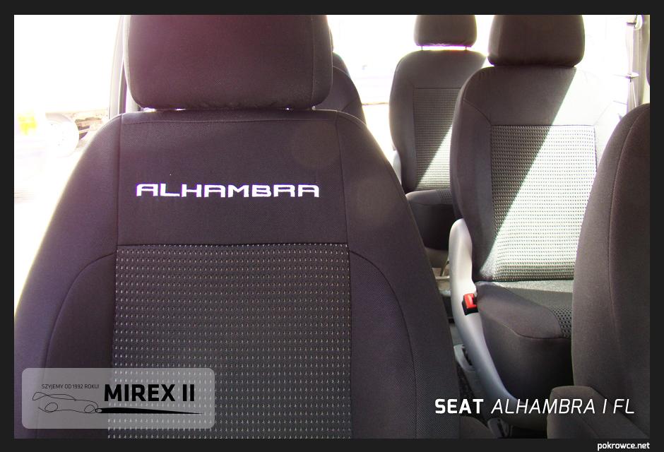 pokrowce do seat alhambra 1fl