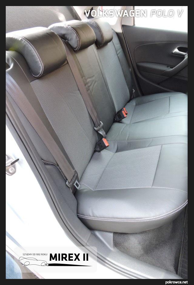 pokrowce do samochodu Polo 5