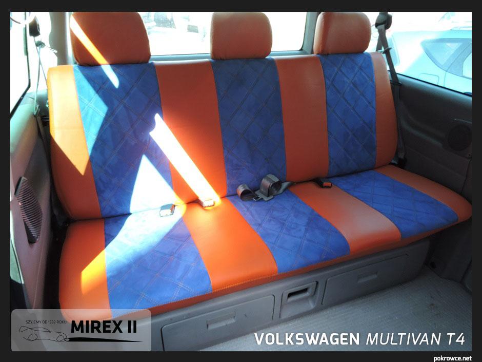 pokrowce ekskluzywne volkswagen multivan t4