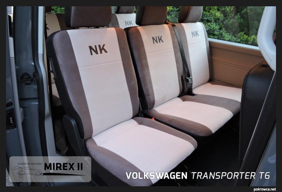 pokrowce volkswagen transporter t6