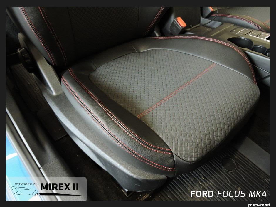 pokrowce skórzane ford focus mk4