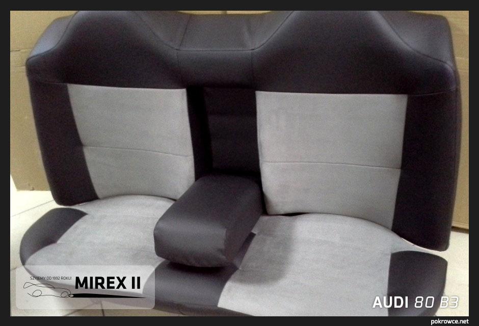 pokrowce skórzane Audi 80 B3