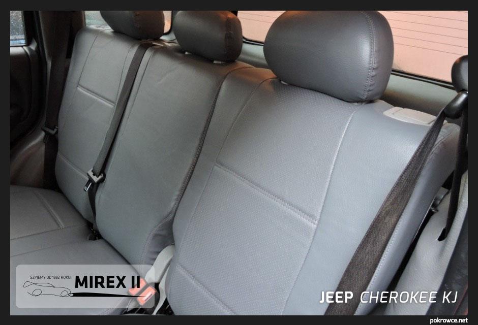 pokrowce skórzane jeep cherokee KJ