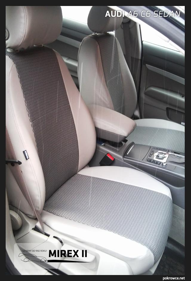 pokrowce audi a6 c6 sedan