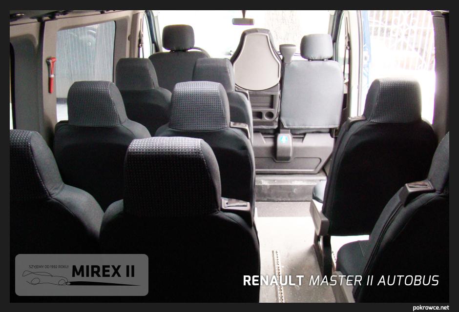 pokrowce do renault master 2 autobus
