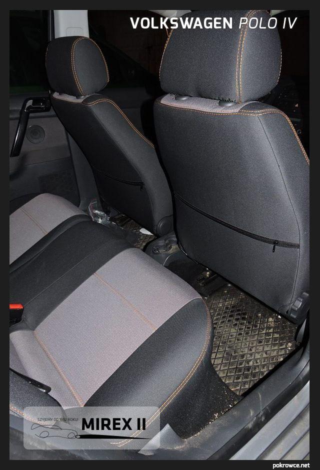 pokrowce do samochodu Polo 4