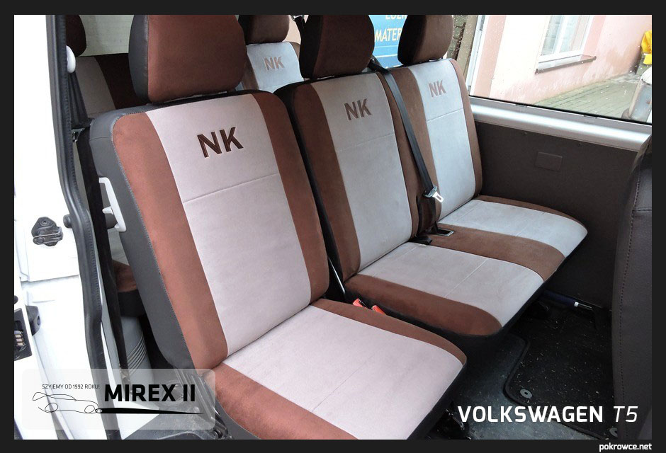 pokrowce ekskluzywne volkswagen t5