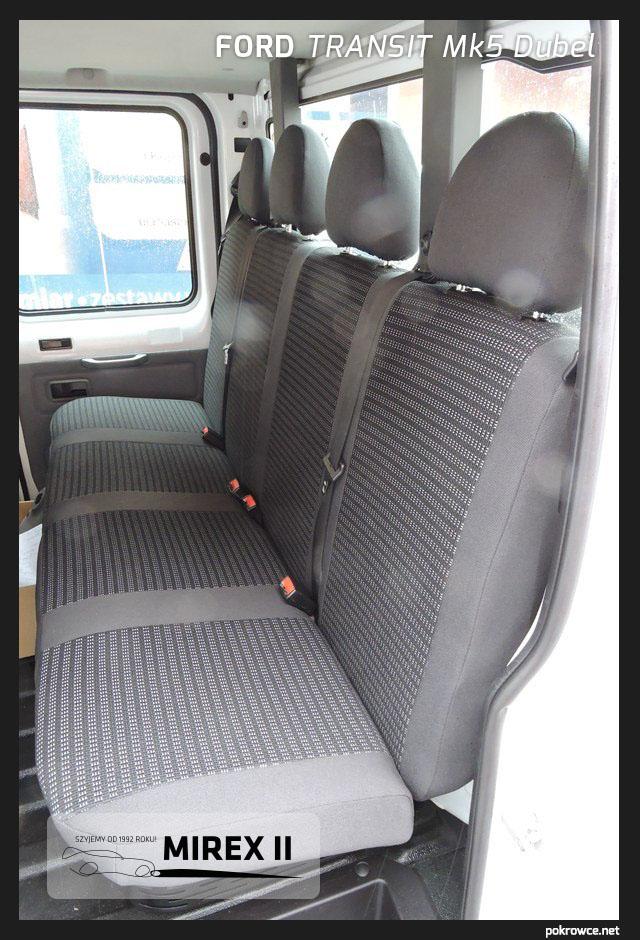 pokrowce ford transit mk5 dubel