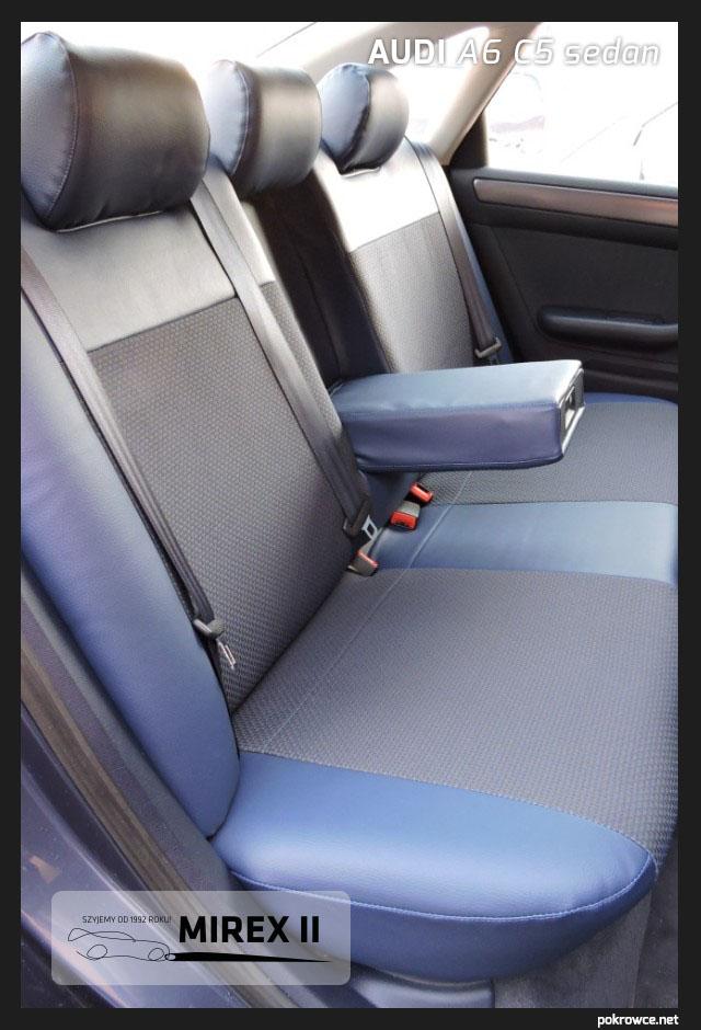 pokrowce audi a6 c5 sedan