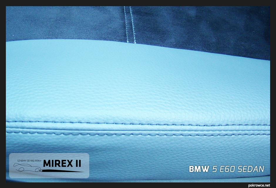 pokrowce skórzane bmw 5 e60 sedan