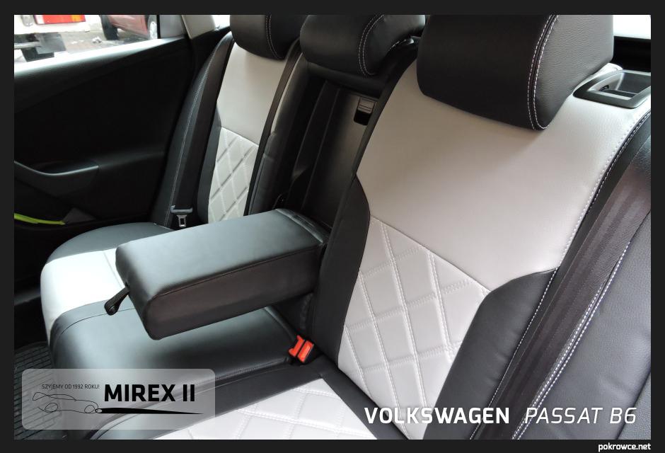 pokrowce skórzane do volkswagen passat b6 sedan