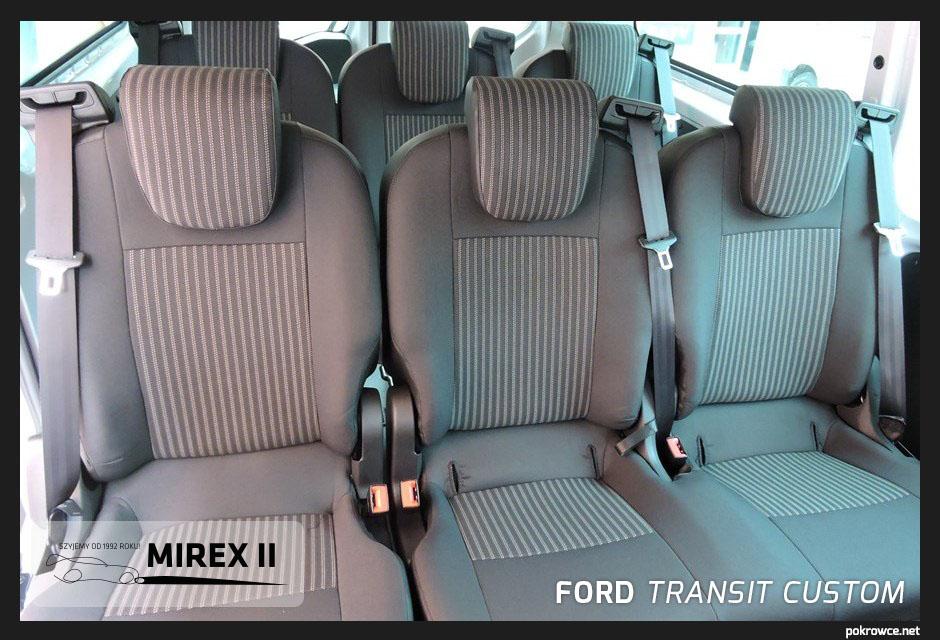 pokrowce ford transit custom