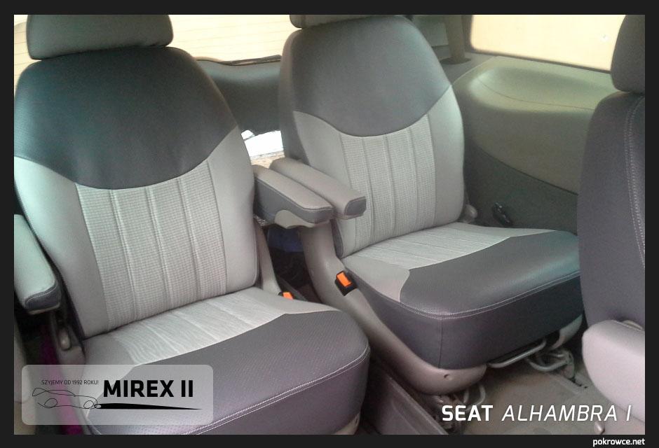 pokrowce do seat alhambra 1