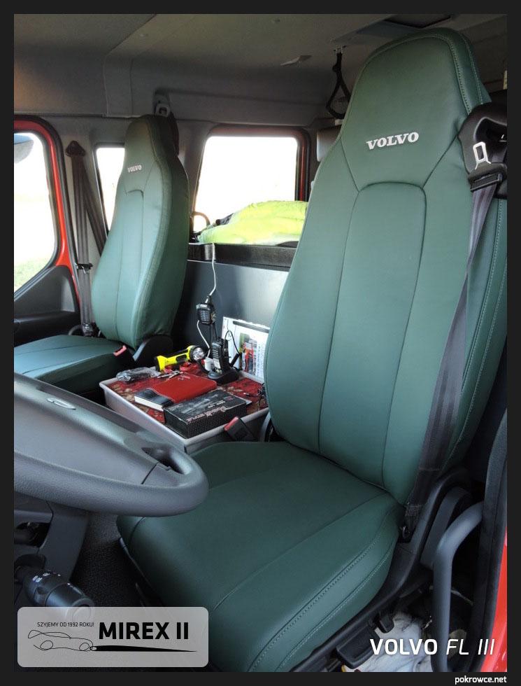 pokrowce z eko skóry na indywidualne zamówienie Volvo