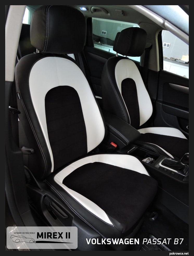 Ekskluzywne pokrowce na fotele samochodowe z eko skóry